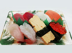 握り寿司8貫上